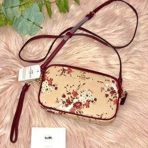 NEW! COACH Women's Floral Bundle Sadie Bag